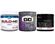BPI JAY CUTLER STACK: BUILD-HD+GO+VEIN CRECIMIENTO MUSCULAR